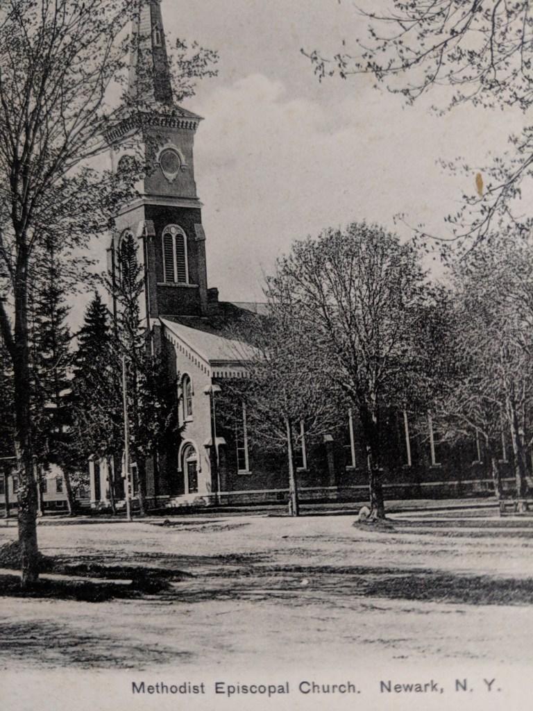 Newark FUMC 1854 Methodist Episcopal Church