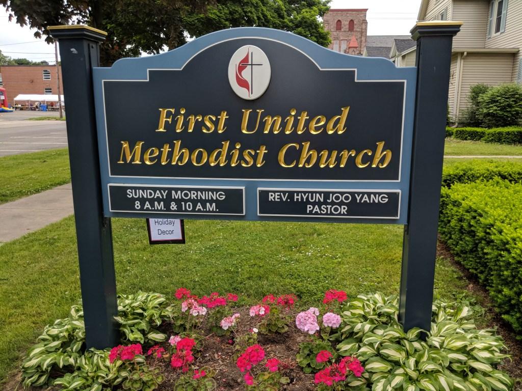 Newark FUMC Church Sign