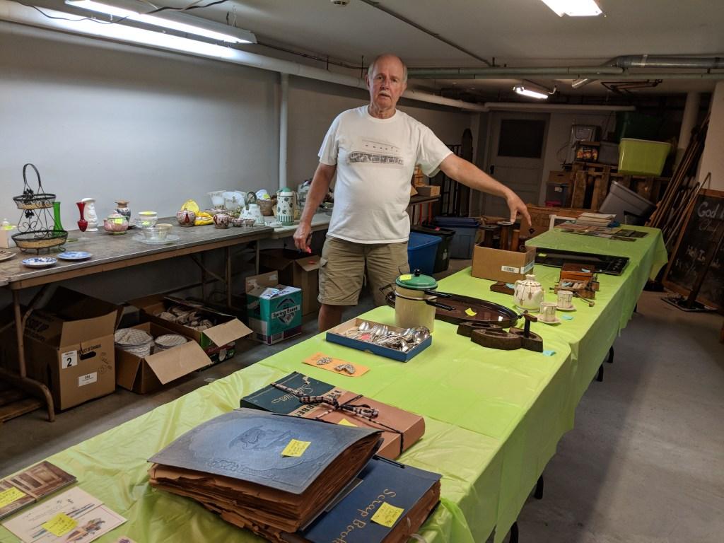 Newark FUMC 2018 Spring Bazaar Attic Treasures