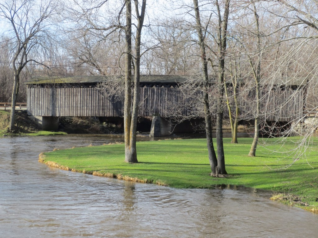Newark FUMC Covered Bridge #1 (NS)