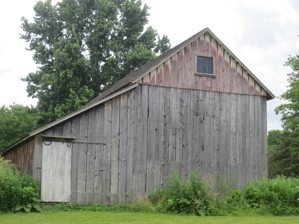 Newark FUMC Grey Barn photo by Nancy Schrader