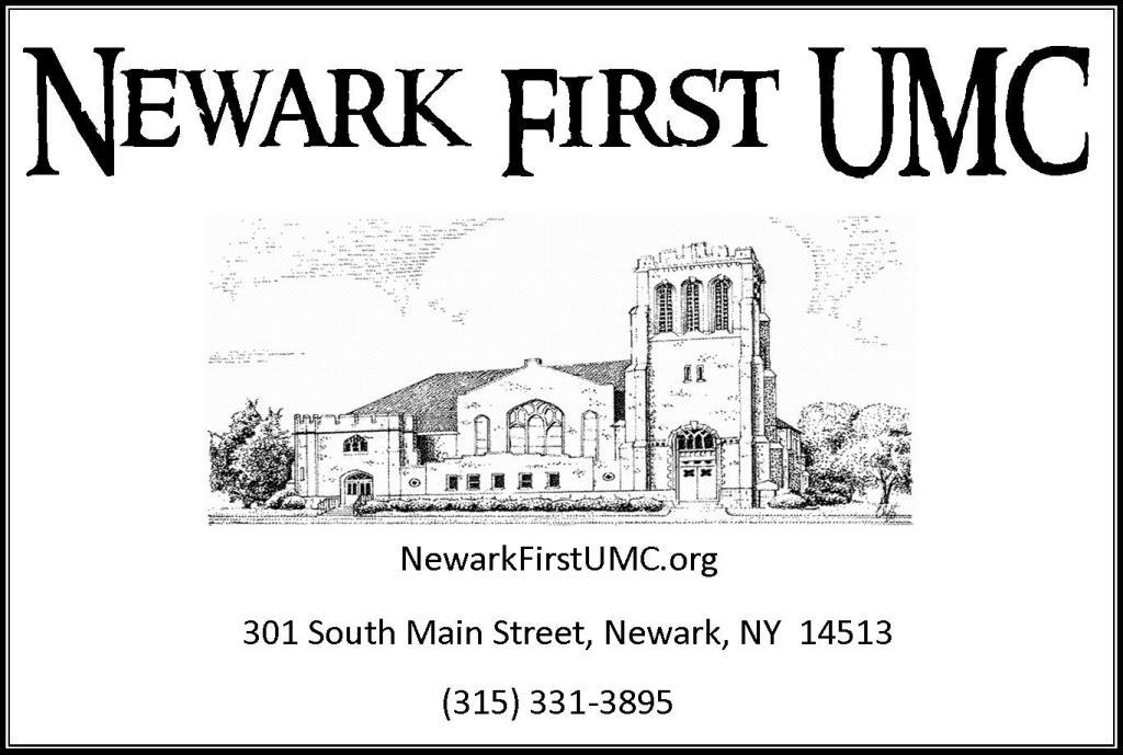 Newark FUMC postcard