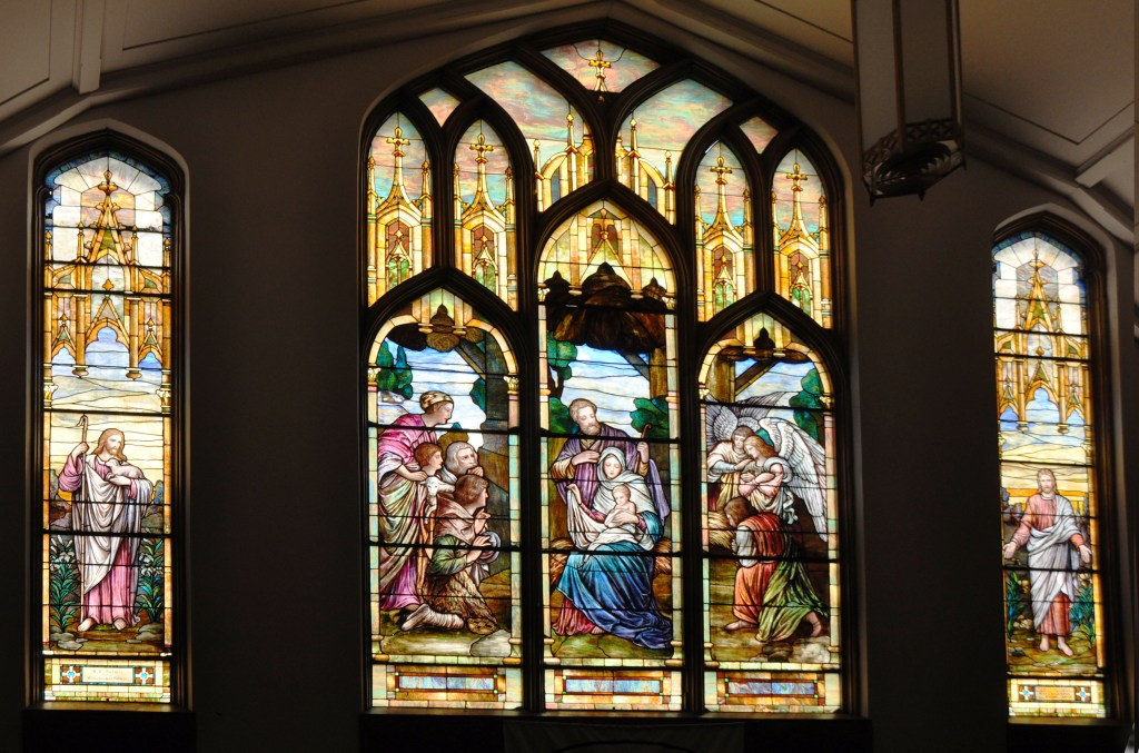Stained Glass photo by Vicki George