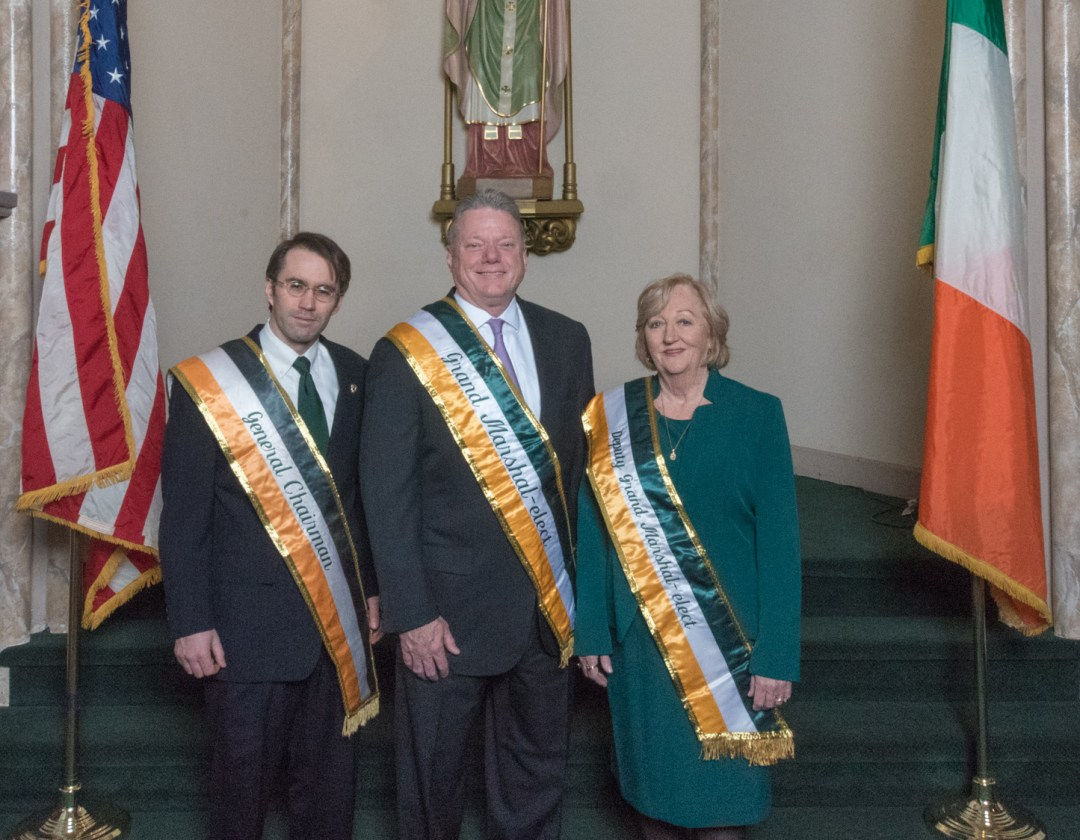 2018 Grand Marshal, Deputy Grand Marshal, and General Chairman