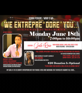 We EntrepreDore You event