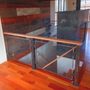 Wire Mesh Railing Infill Panels  Newark Wire Works Inc