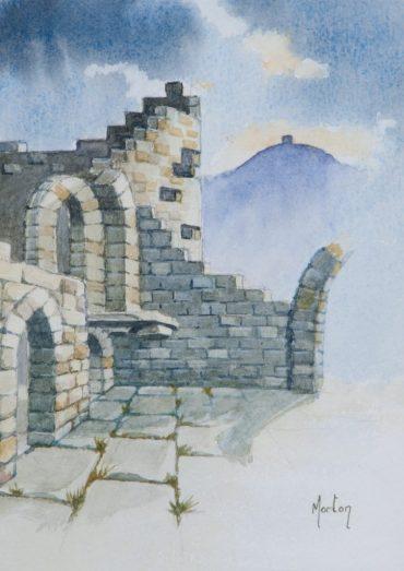 'Castle & Pike, Rivington' by Morton Murray