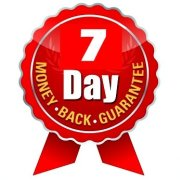 7 day money back guarantee seal