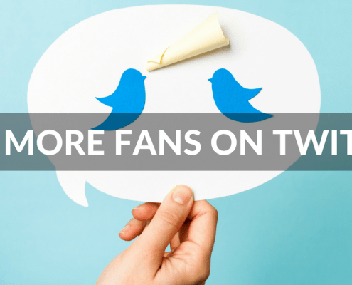 Get more fans on Twitter