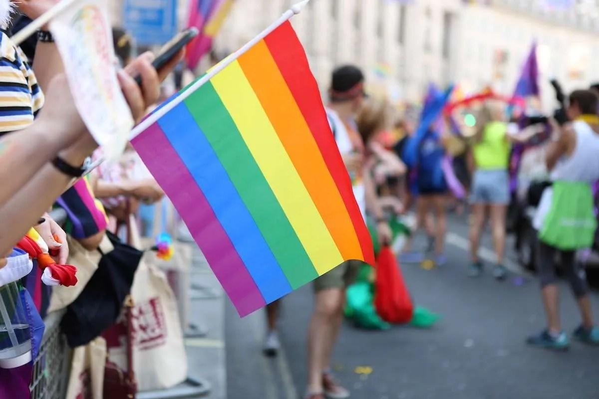 Bandeira pride no canada