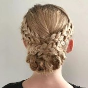 cute updos short and long