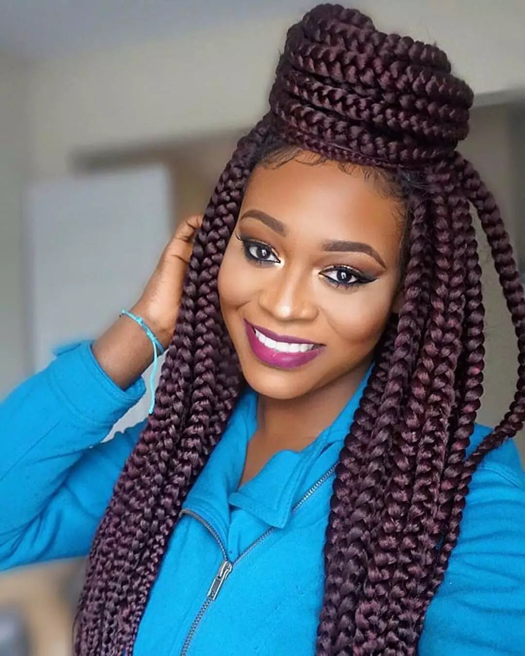 Single Braids Hairstyles New Summer Trend 2017