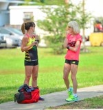 Team New Balance Tampa: Lynn Cooke, Shelly Gornick Allen