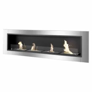 Accalia Series - Recessed Ethanol Fireplace