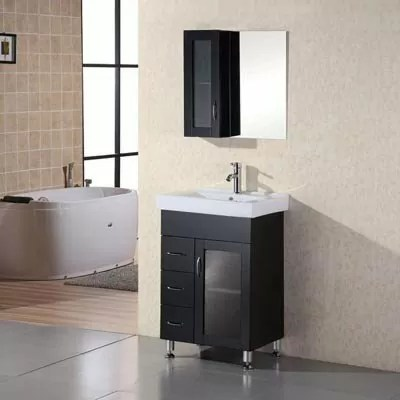 "Oslo 24"" Single Sink Vanity Set Design Element"