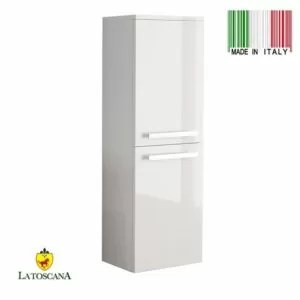 LaToscana AMBRA linen tower Color Glossy White AMCO-23W