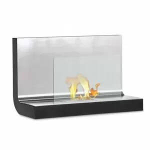 Ferrum - Wall Mounted Ethanol Fireplace