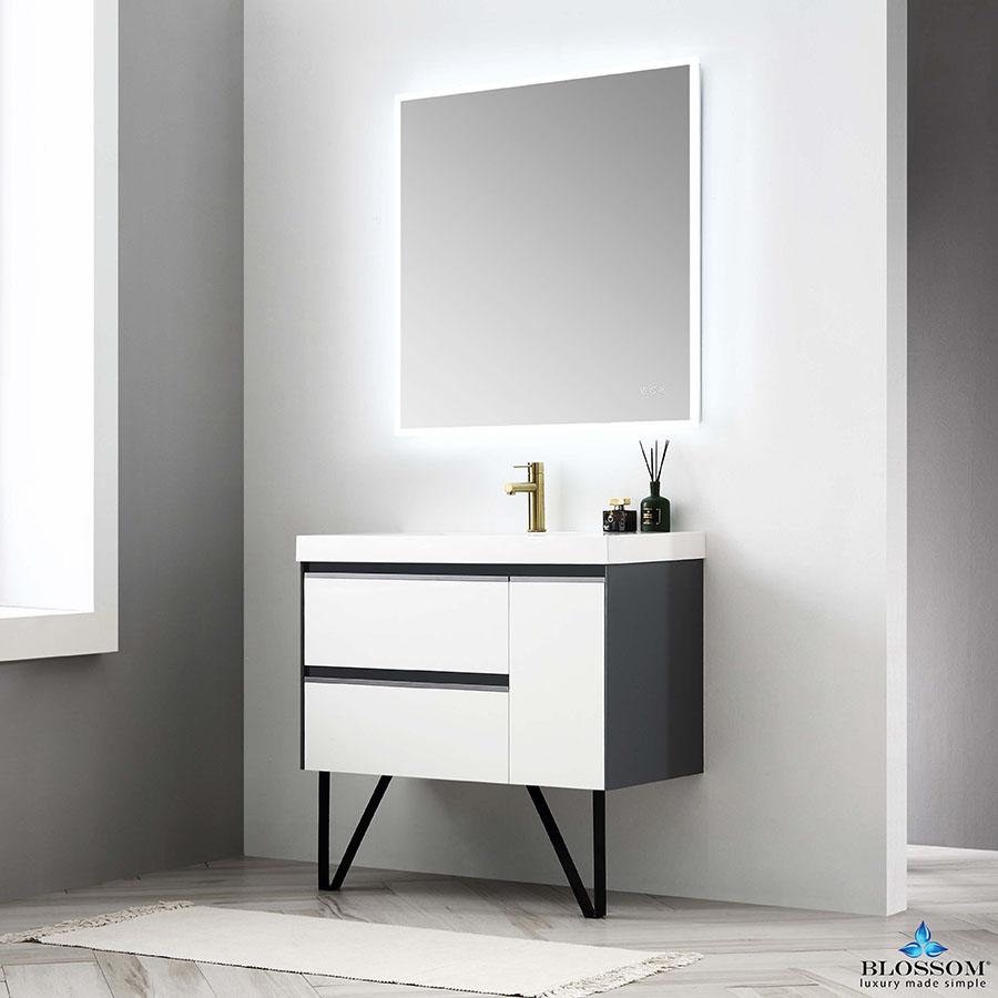 blossom model berlin 36 floating modern bathroom vanity