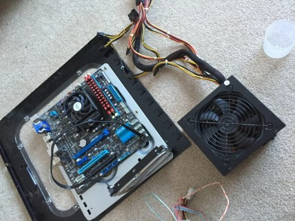 Old PC Build Motherboard and PSU