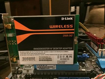 Wireless PCI Card D-Link Adapter