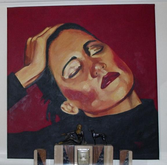 Fifi, '77, 48 x 48 inches