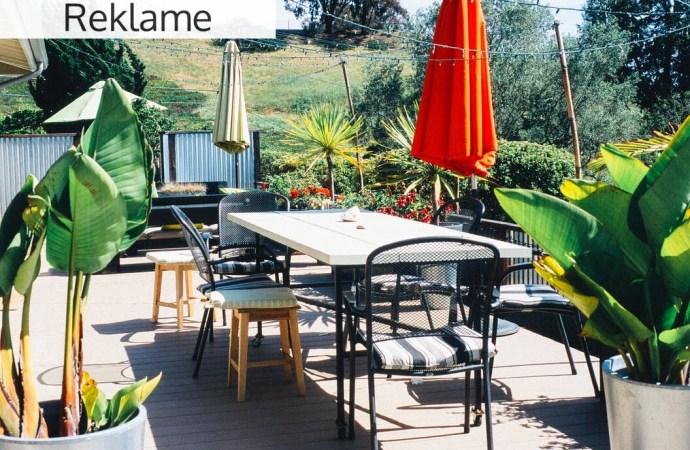 Brug foråret til at anlægge en ny terrasse