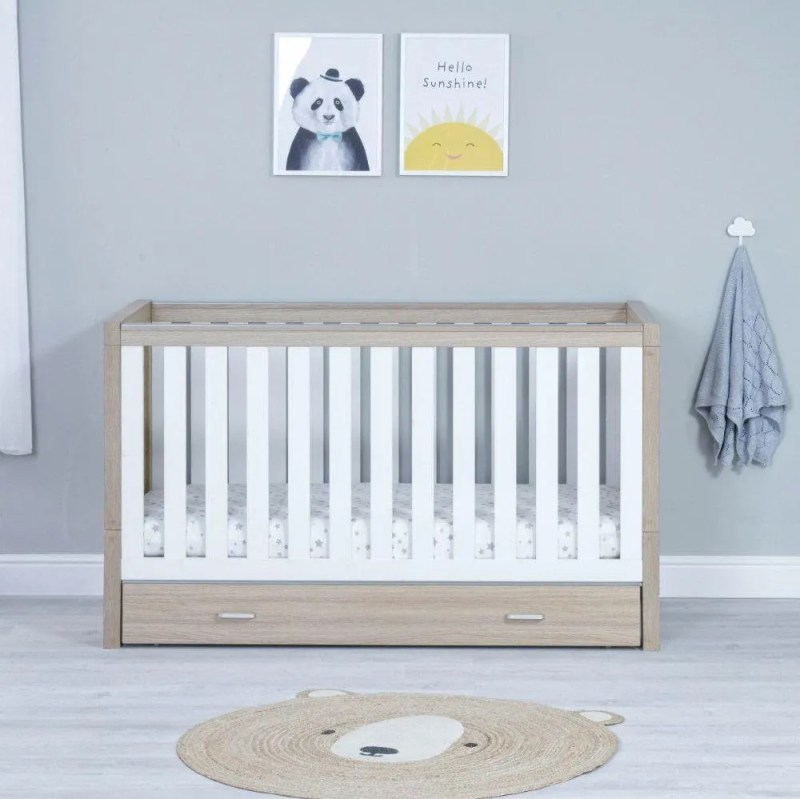 luno-cot-bed-oak-white-with-under-drawer