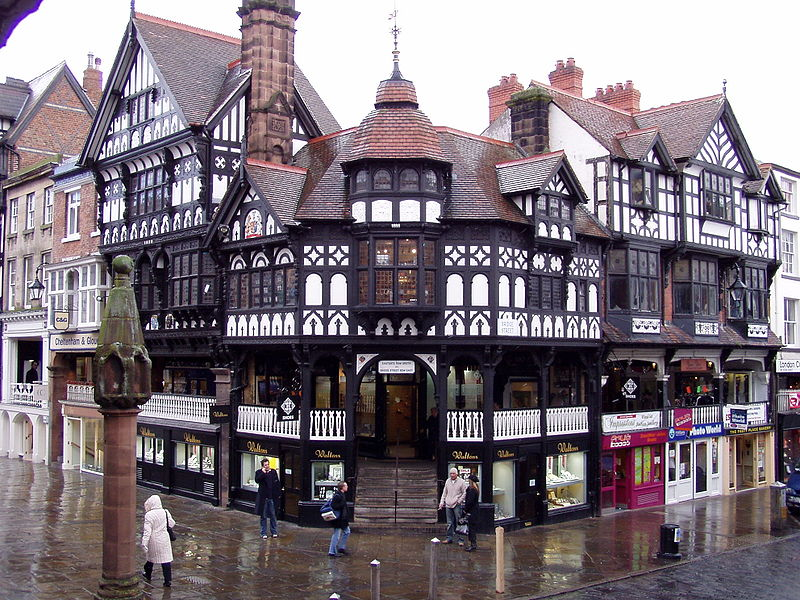 A view of Chester (photo by Clint Heacock via Wikipedia.org)