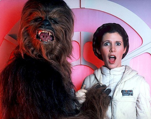 Happy Star Wars Day indeed, Chewie old pal!
