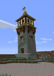 minecraft medieval buildings watchtower lighthouse tower castle blueprints designs building cool architecture castles screenshots crafts google idea creation build plans