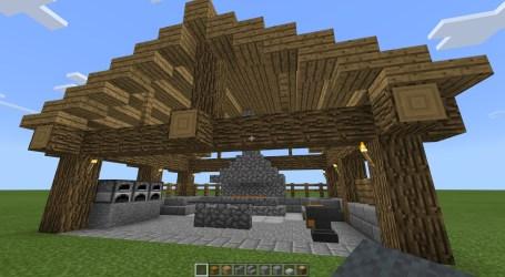 Minecraft Large Blacksmith NewbieKenobi