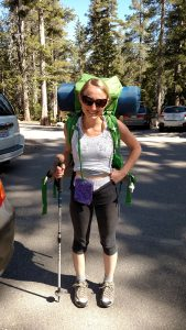 Backpacking with an Ostomy - Bag out