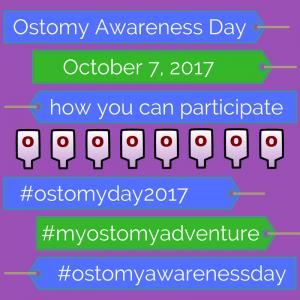 ostomy awareness day 2017 #ostomyday2017 #myostomyadventure