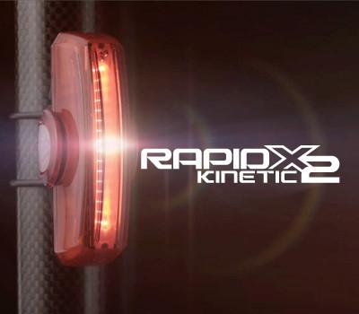 NUOVE LAMPADE POSTERIORI CATEYE RAPID X2 KINETIC