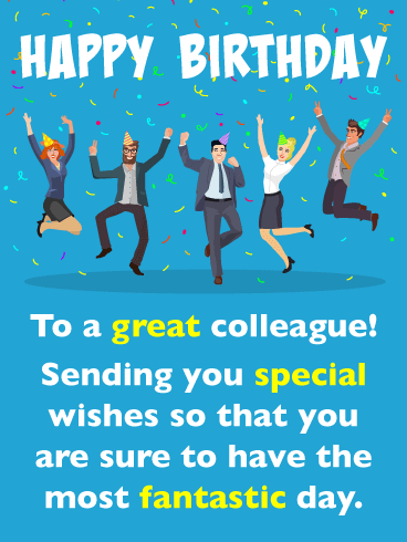 Funny Birthday Quotes For Coworker : funny, birthday, quotes, coworker, Happy, Birthday, Wishes, Colleagues
