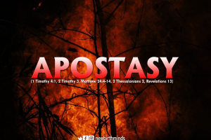 WARNING AGAINST APOSTASY