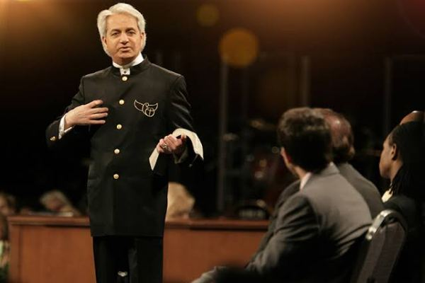 There is a spirit behind deafness and blindness – Benny Hinn