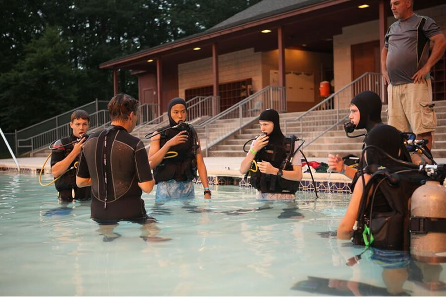 Discover Scuba New Birth Of Freedom Council Bsa