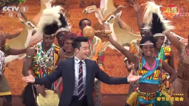 Chinese Spring Gala Skit Featuring Blackface Provokes Outrage