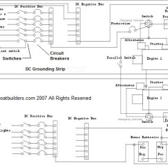 12v Wiring Diagram For Boats Lab Gel Electrophoresis Dc Wire Boat Building Standards Basic Electricity Direct Current Morewhat You Need To Know About The Electrical Systems
