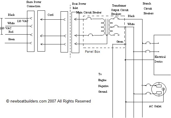 Marine Isolation Transformer Wiring Diagram : 43 Wiring