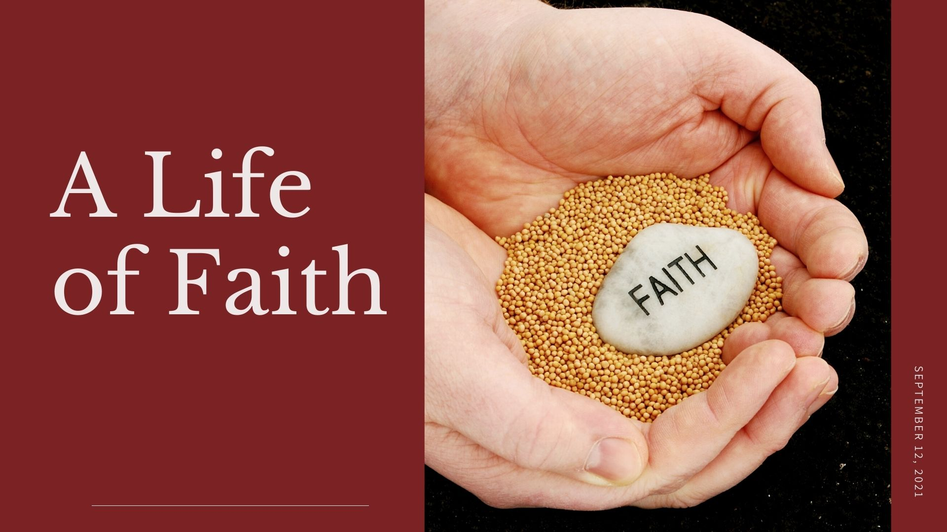A Life of Faith, with Gary Armstrong