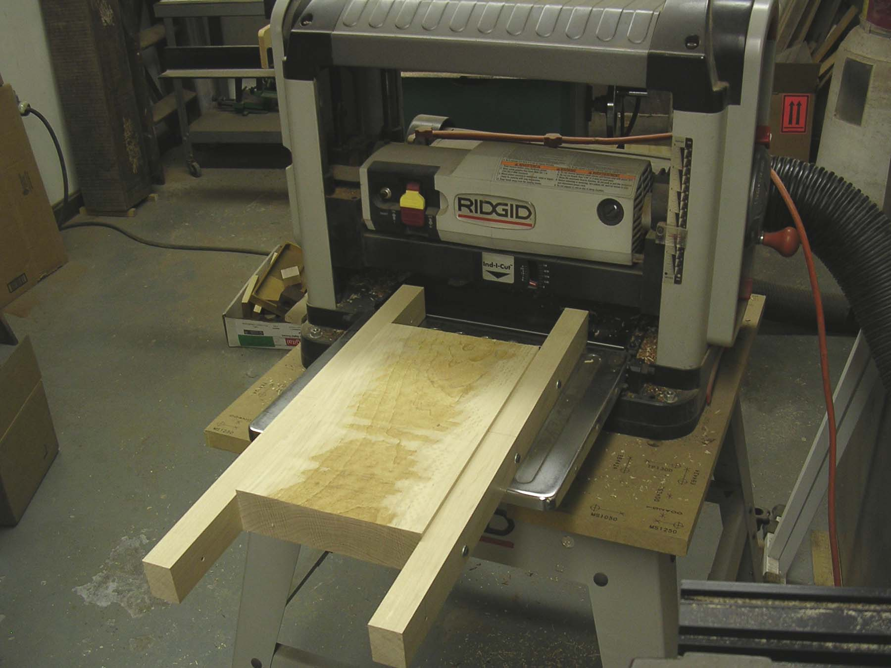 Flattening Boards With A Planer
