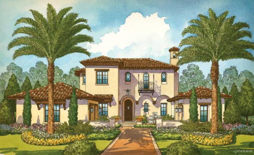Disney Golden Oak Luxury new homes in Lake Buena VistaNew Build Homes