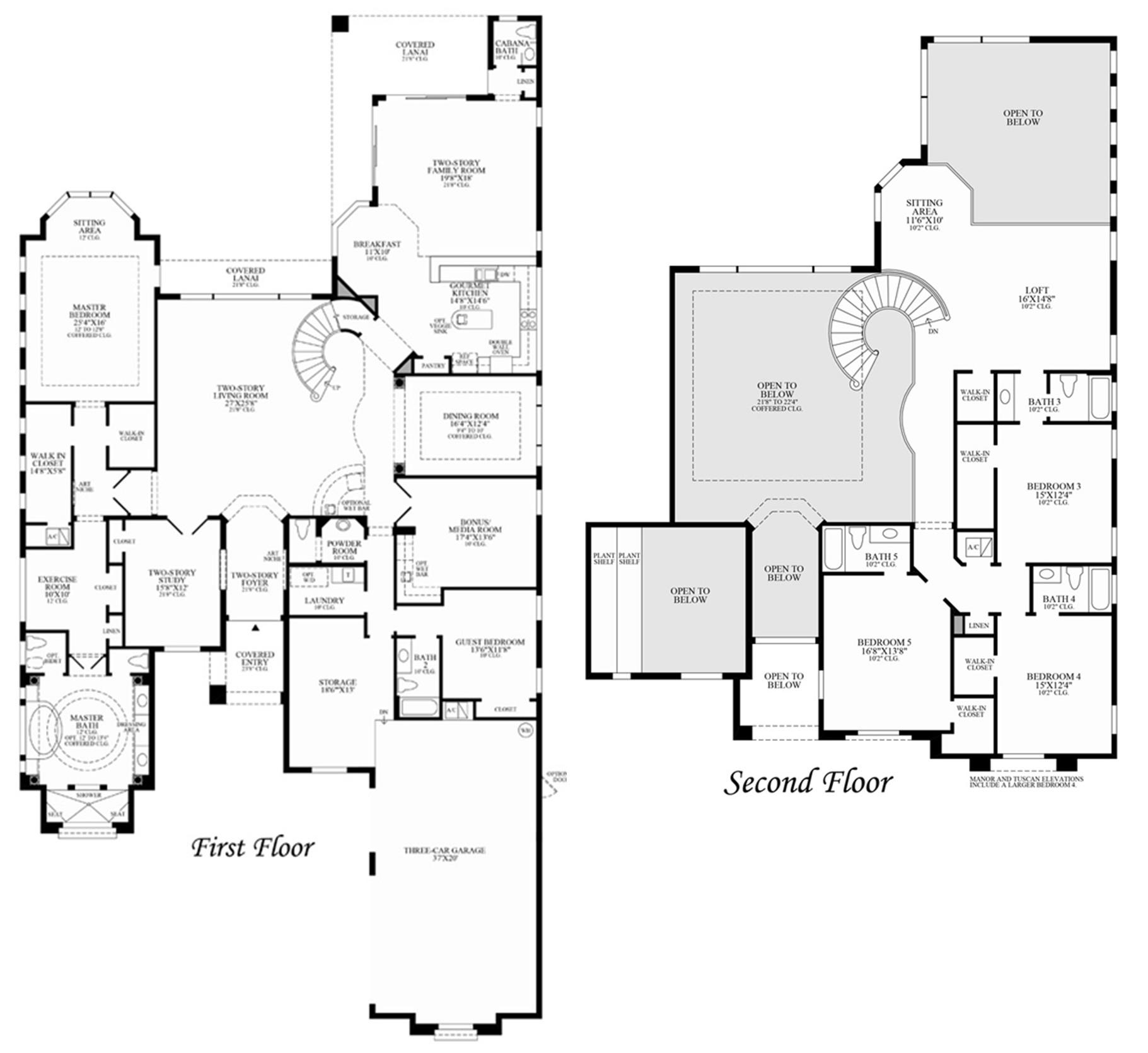 Casa Fortuna Floor Plan