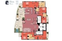 Luxury Penthouse Condo Floor Plans