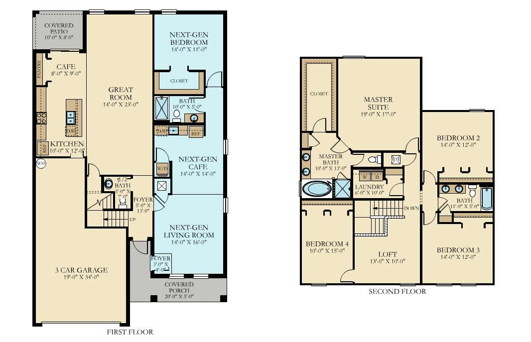 Lennar Independence Floor Plan