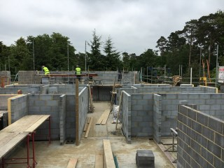 First floor rooms appearing by the day
