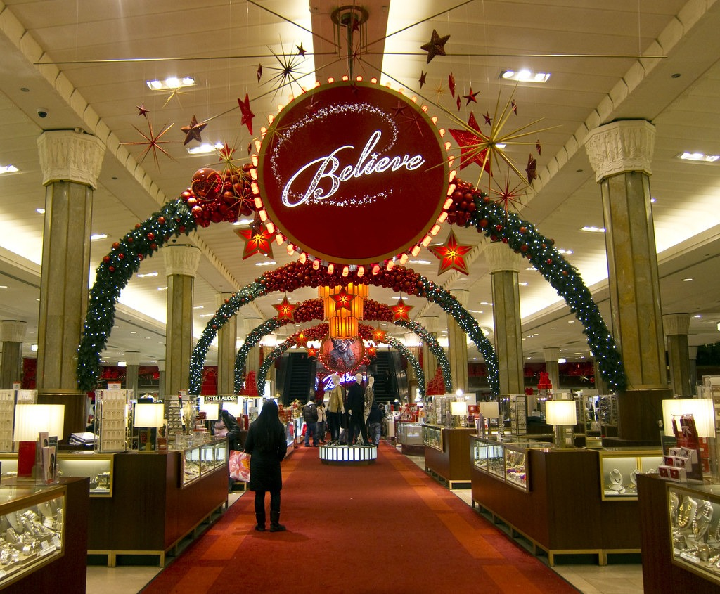 stores are open 24 hours for Christmas shopping
