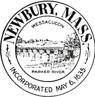 Seal of the Town of Newbury, Massachusetts